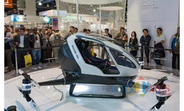 Mobil terbang E-Hang (Foto: SINDOnews)
