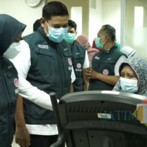 Wali Kota Kediri Melihat Langsung Pelayanan Home Care Peduli di RSUD Gambiran Kota Kediri