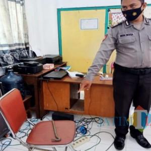 SDN di Jombang Dibobol Maling, Peralatan Elektronik dan Uang Raib
