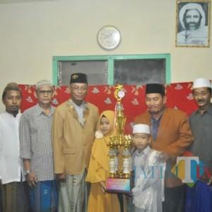 Bangga, 2 Santri Al- Hammadaa Raih Kejuaraan Tingkat Nasional di Ajang Ramadan Kids