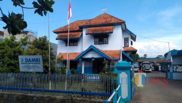 Kantor DAMRI Cabang Malang di Jalan Letjend S. Parman No.11, Purwantoro, Blimbing, Kota Malang (Foto istimewa)