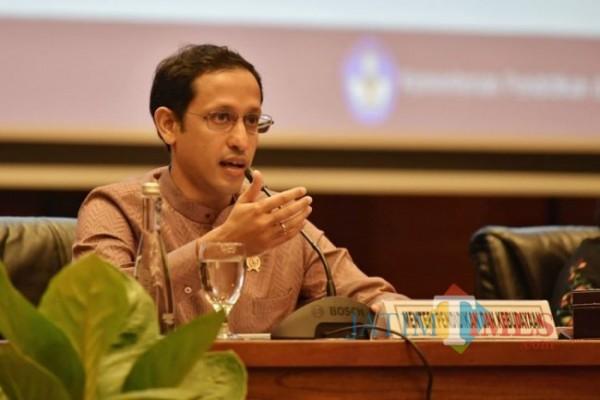 Menteri Pendidikan dan Kebudayaan RI Nadiem Anwar Makarim. (Foto: Istimewa)