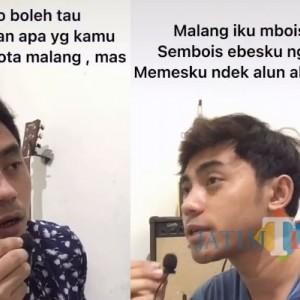 """Kreatif, Peserta Kompetisi TikTok Piala Wali Kota Ini Ajak """"Kembaran"""" Mengulas Kenangan Kota Malang"""