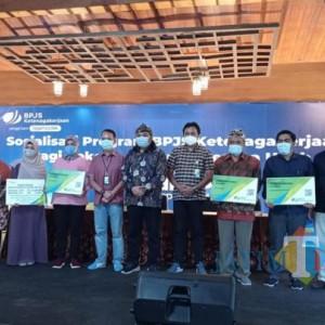 Sinergi dengan BPJAMSOSTEK, Anggota DPR RI Nurhadi Sosialisasikan Program Jaminan Sosial BPU