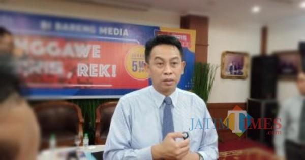 Deputi Kepala Perwakilan BI Jatim, Imam Subarkah