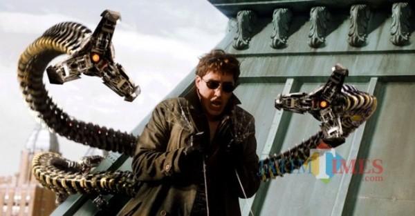Doctor Octopus di film Spider-Man. (Foto: source google).