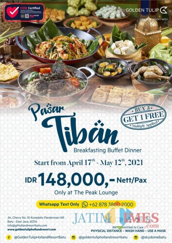 Golden Tulip Holland Resort Batu kembali hadirkan 'Pasar Tiban' paket berbuka puasa all you can eat (foto istimewa)