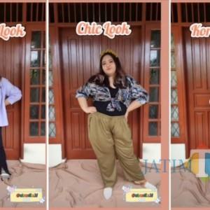 Ide Outfit Acara Bukber Buat Si Pemilik Tubuh Gemuk, Boleh Banget Dicontek Nih!