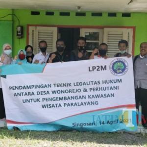 Turut Kembangkan Wisata Paralayang di Desa Wonorejo, Akademisi dan Mahasiswa UM Lakukan Pendampingan