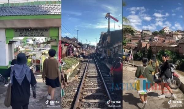 Wisata Blusukan di Kota Lama Malang (Tangkapan Layar TikTok)