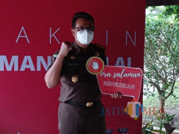 Kajari Kabupaten Malang Edi Handoyo (Foto: Hendra Saputra/MalangTIMES)