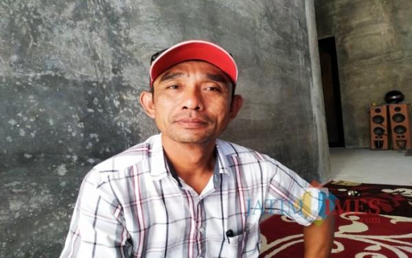 Maduki, Kepala Desa Pucanglaban / Foto : Anang Basso / Tulungagung TIMES