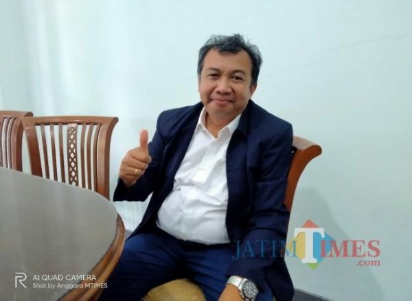 Prof Suhartono, guru besar UIN Malang yang juga mendaftar menjadi bakal calon rektor. (doc MalangTIMES)
