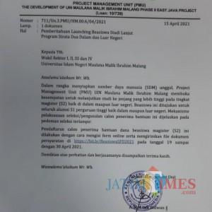 Siapkan Calon Dosen 4 Prodi yang Bakal Dibuka, UIN Malang Sediakan Beasiswa S2, Yang Minat Buruan Daftar