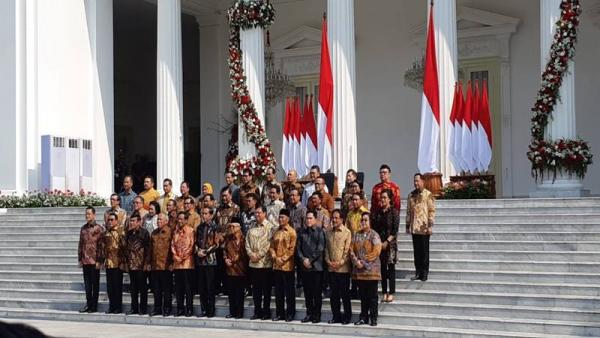 Kabinet Indonesia Maju (Foto: Bisnis.com)