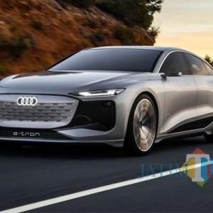 Audi Resmi Perkenalkan A6 E-Tron, Sedan Listrik Berbodi Klimis Sportback