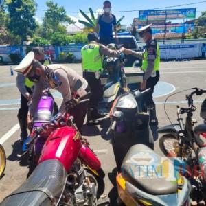 Polres Bondowoso Amankan 10 Motor di 2 Lokasi Balap Liar