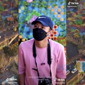 Keseruan Peserta Kompetisi TikTok Piala Wali Kota Malang, Suguhkan Kecantikan Kampung Wisata Jodipan