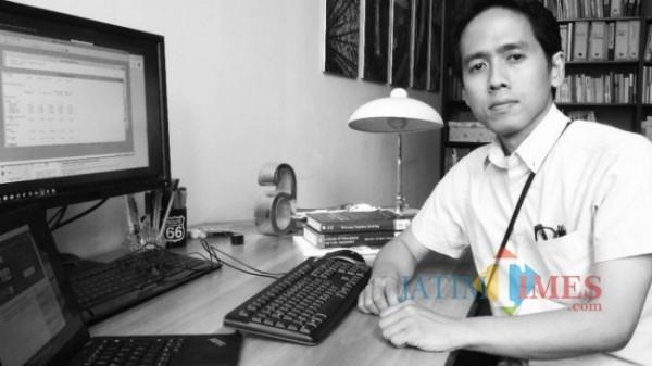 Kepala Balitbang dan Perbukuan Kemendikbud Anindito Aditomo
