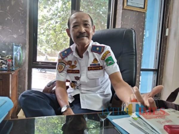 Kepala Dishub Kabupaten Malang, Hafi Lutfi (foto: Hendra Saputra/MalangTIMES)
