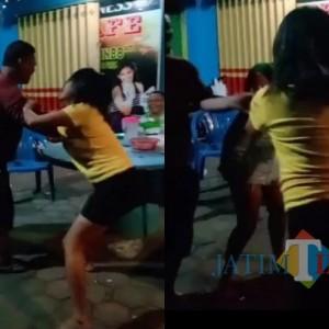 Viral, Dua Wanita Pemandu Lagu Berkelahi, Diduga Mabuk
