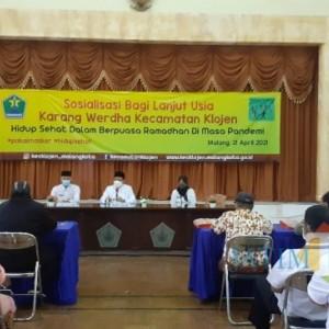 Bulan Suci Ramadan, Wali Kota Sutiaji Imbau Lansia Jaga Kesehatan