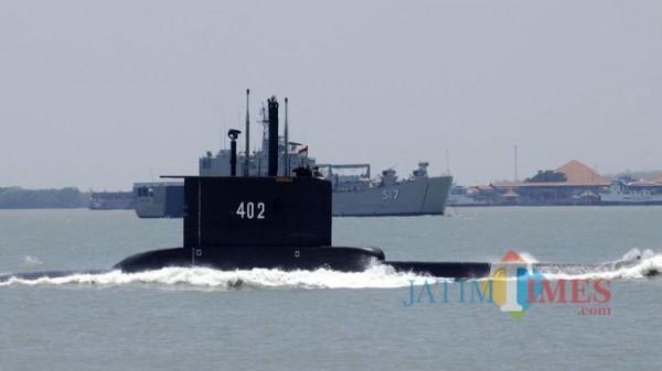 Kapal Selam KRI Nanggala-402. (Foto: CNN Indonesia)