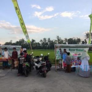 Geliatkan Ekonomi, Pasar Ramadan Desa Tegal Pasir Kembali Digelar