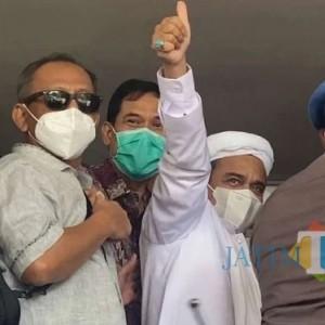 Adu Mulut Habib Rizeq vs Jaksa di Persidangan yang Buat Hakim Turun Tangan