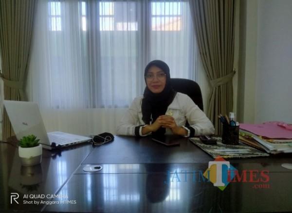 Kepala Bidang (Kabid) Kebudayaan Disdikbud Kota Malang Dr Dian Kuntari S STP MSi (Foto: Anggara Sudiongko/MalangTIMES)