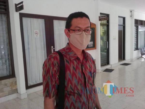Manajer PLN UP3 Banyuwangi, Krisantus H. Setyawan (Nurhadi BanyuwangiTIMES)