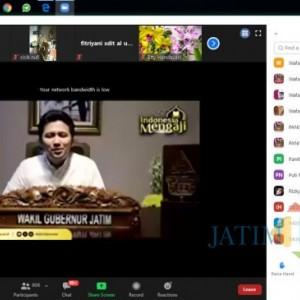 Harapkan Pandemi Segera Berlalu, Wabup Emil Ngaji Bareng Wafa Indonesia