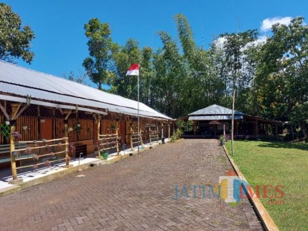 Kondisi SDIT Insantama Malang yang terletak di Jalan Pringgandani, Kelurahan Merjosari, Kecamatan Lowokwaru, Kota Malang tampak asri dan sejuk. (Foto: Tubagus Achmad/ MalangTIMES)