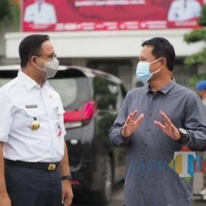 Gubernur DKI Jakarta Kunjungi Kota Madiun, Ini yang Diharapkan Wali Kota Maidi
