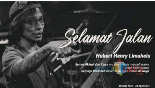 RIP Hubert Henry Limahelu bassist band rock legendaris Boomerang (sumber: Instagram Boomerang)