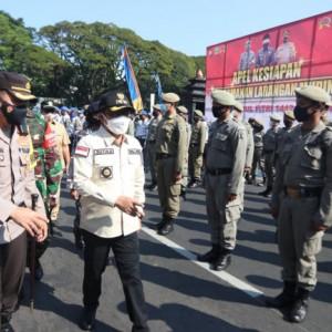 300 Personel Gabungan Disiapkan untuk Pengetatan Larangan Mudik di Kota Malang