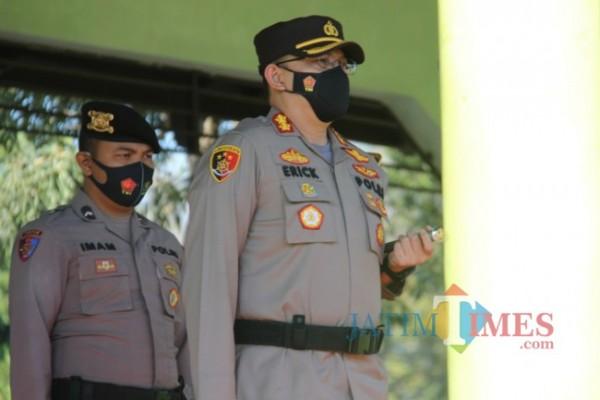 Kapolres Bondowoso AKBP Erick Frendriz (Foto: Abror Rosi/Jatim times)