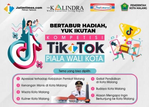 Kompetisi TikTok Piala Wali Kota Malang (Dok. JatimTIMES)