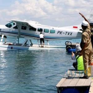 Pesawat Amphibi Travira Air Rute Bali-Pulau Giliyang Akan Ada di Sumenep