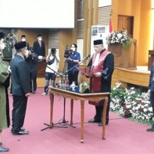 Definitif, Darmadi Gantikan Didik Gatot Subroto sebagai Ketua DPRD Kabupaten Malang
