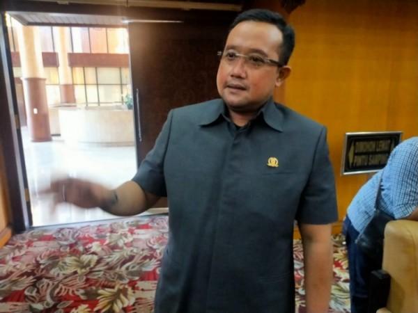 Ketua Panitia Khusus (Pansus) Laporan Keterangan Pertanggungjawaban (LKPJ) Gubernur Jatim tahun 2020, Blegur Prijanggono. (Foto: Bahrul Marzuki/SurabayaTIMES).