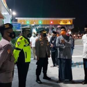Pos Penyekatan Siap, Polres Ngawi Siagakan Ratusan Personel