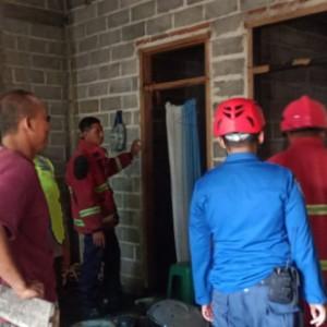 Diduga Korsleting Listrik, Rumah di Wonodadi Blitar Dilalap si Jago Merah