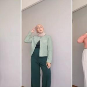 Tips Tampil dengan Gaya Simple ala Hijabers, Cocok untuk Outfit Hangout dan Ngantor Nih!