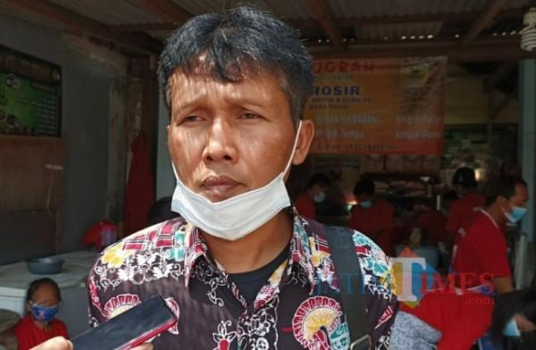 Gatot Siswanto, Ketua Paguyuban UMKM Kelud Mandiri Kabupaten Kediri.(eko arif s/jatimtimes)