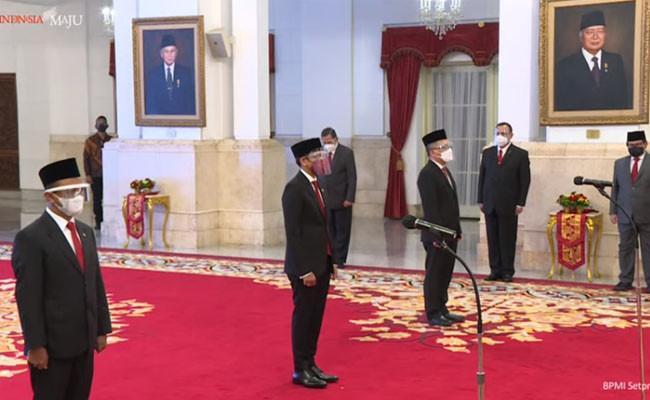 Pelantikan Menteri baru 2