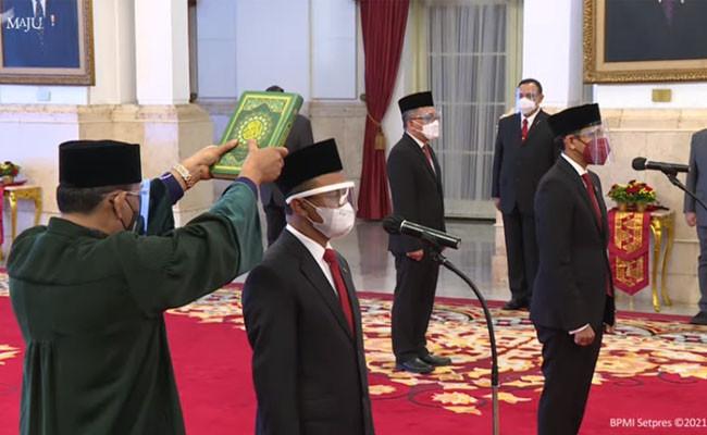 Pelantikan Menteri baru