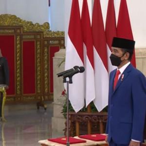 Presiden Jokowi Resmi Lantik 2 Menteri Baru dan Kepala BRIN!