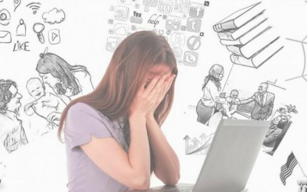 Ilustrasi anak muda dengan segala permasalahannya di usia 20-an (Sumber: Pinterest)