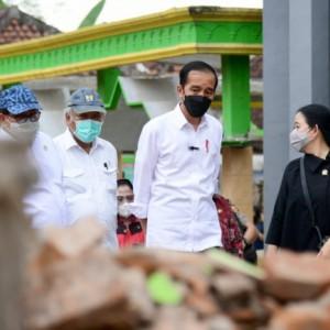 Jokowi Beri Lampu Hijau Bantuan Korban Gempa, Salah Satu Warga Belum Tersentuh